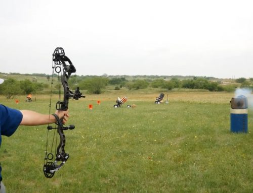 Firebird Targets 50BIO on the Archery Range