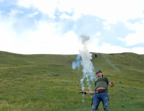 Gould Brothers: Revolver Trick Shots with Firebird Targets